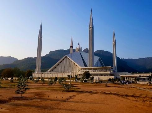 Mosquée Faisal d'Islambad, symbole du renouveau de la République islamique.