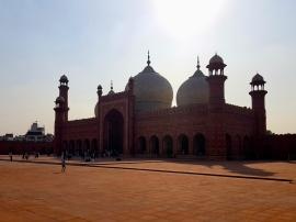 Mosquée Badshahi de Lahore.