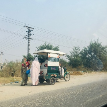 Rickshaw - Route vers Wazirabad